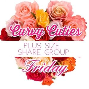Tops - 2/8 (CLOSED) PLUS SHARE GROUP: Curvy Cuties
